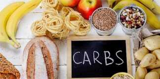 recommended daily carb intake for diabetics